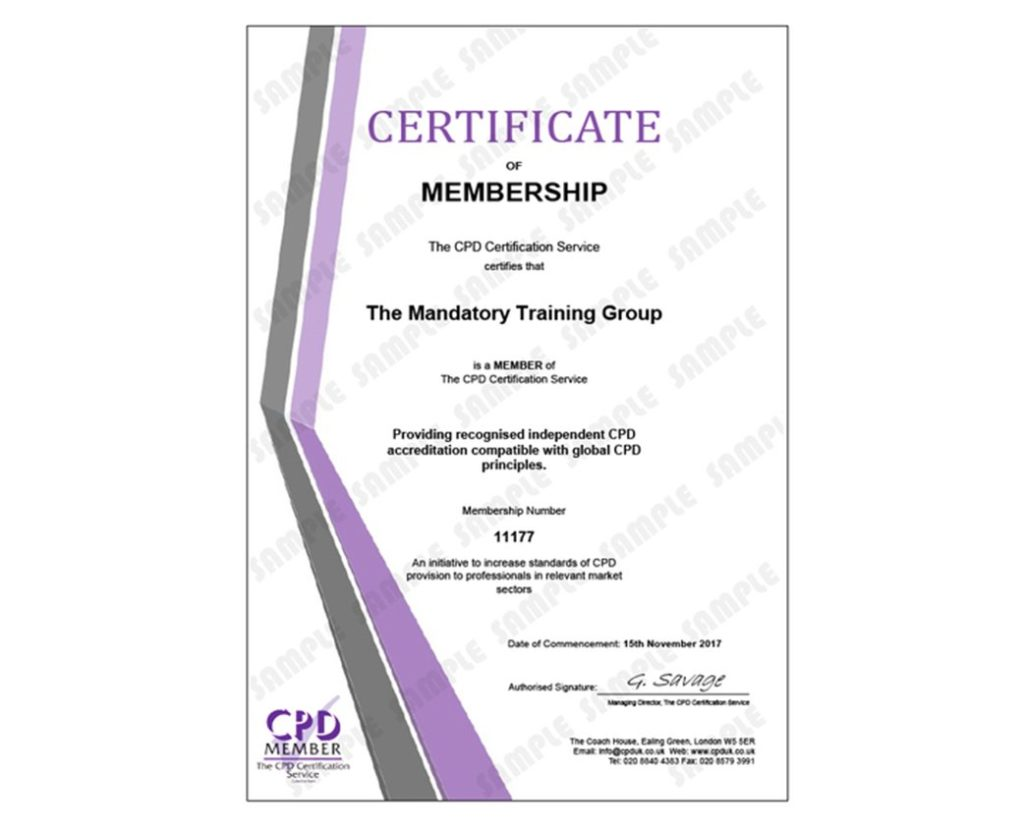 Managing Personal Finances - Online CPD Accredited Course - The Mandatory Training Group UK -