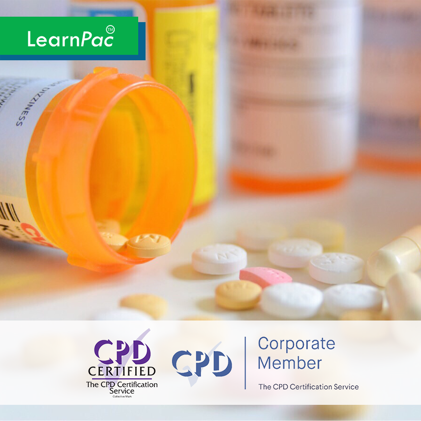 Medicines Management for Nurses & AHPs - Level 3 - Online Training Course - CPD Accredited - LearnPac Systems UK -